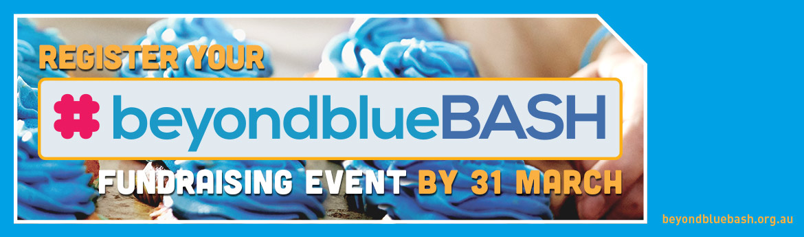 Register your beyondblue Bash fundraising event by 31 March