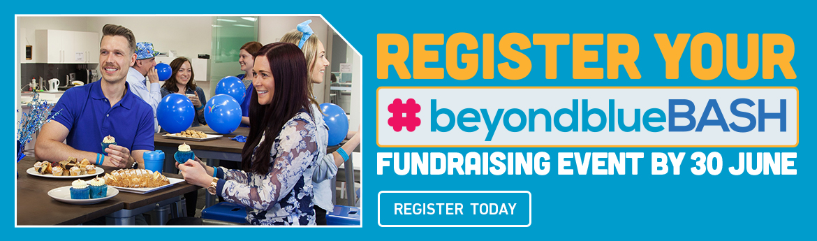 beyondblue Bash in a workplace