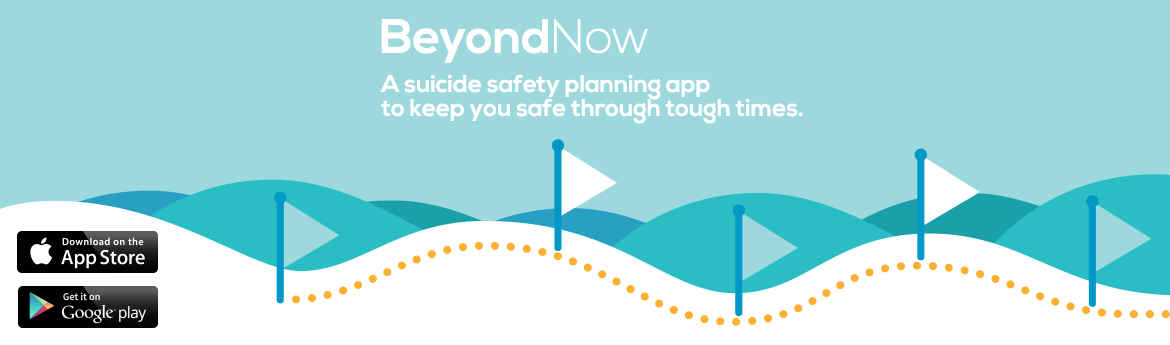 Protect yourself with a suicide safety plan. Download the app for free now.