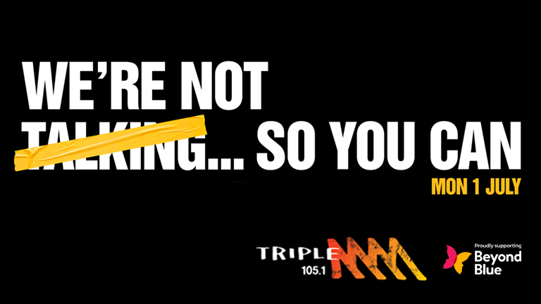 Triple M's 'No Talk Day' is July 1