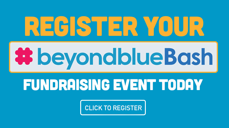 Register your beyondblue Bash fundraising event today