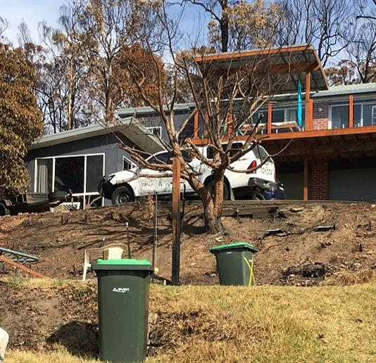 How one couple rebuilt their lives after the Tathra bushfires
