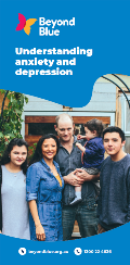 Understanding anxiety and depression brochure front page