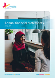 BL/1835 Annual financial statements 2016-17 cover