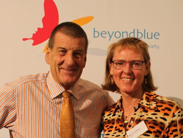 Mary Jo with beyondblue Chair Jeff Kennett