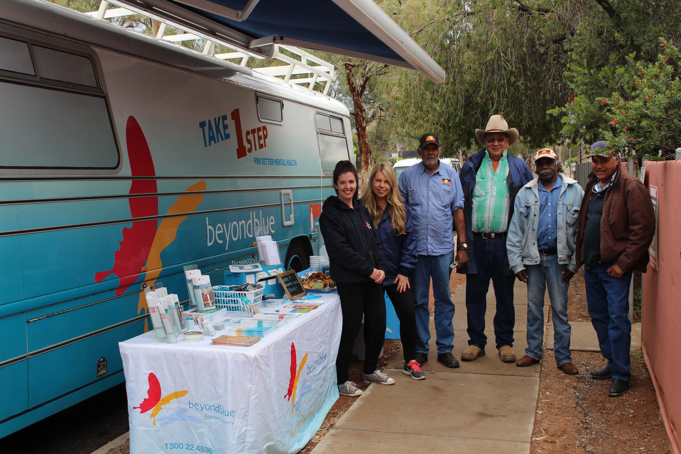 Parked out the front of Ingkintja Men's Health Shed in Alice Springs: NT.