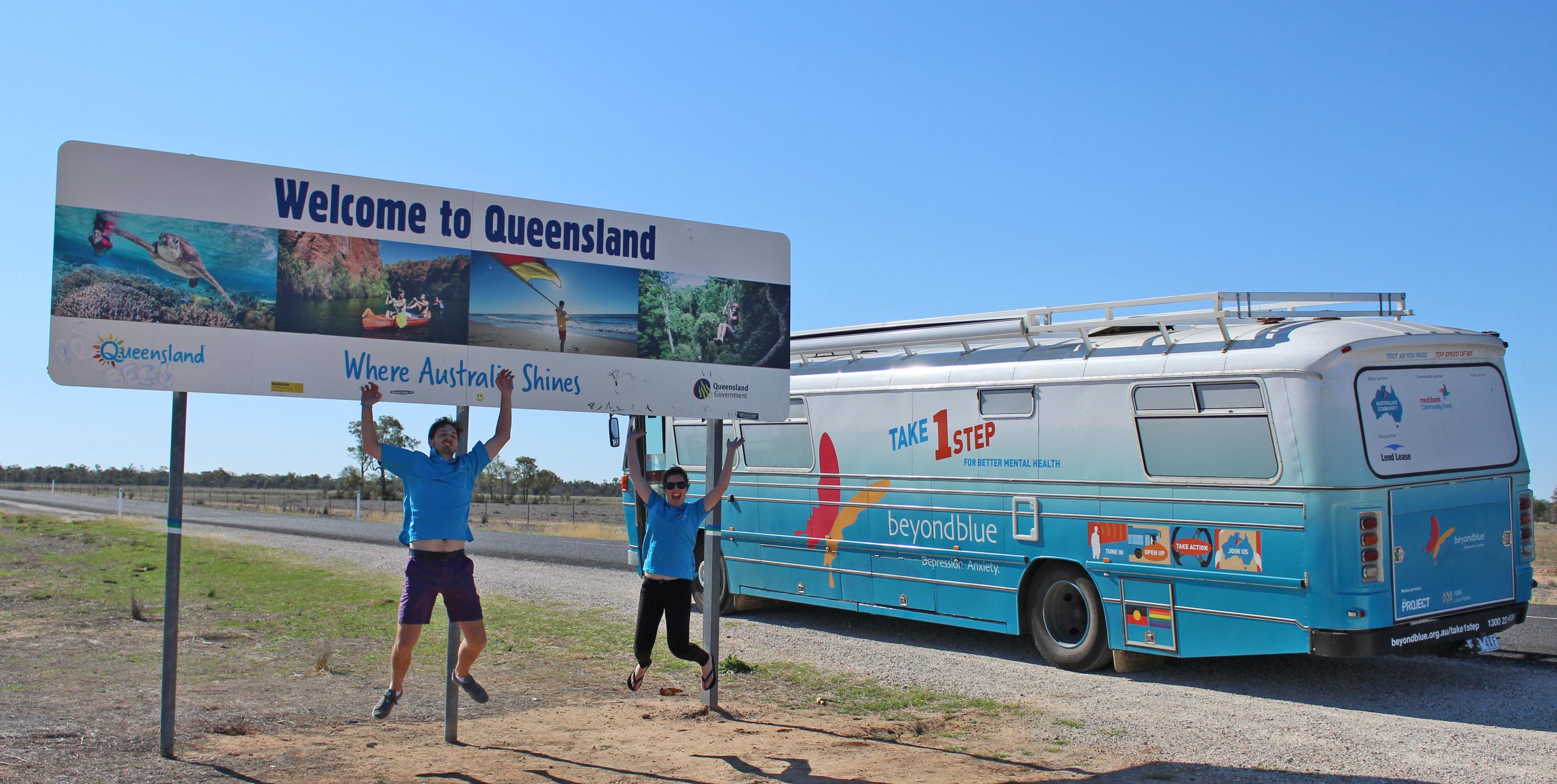 Arriving in Queensland!