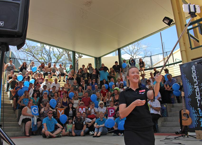 Gympie's 'selfie against stigma' challenge: QLD.