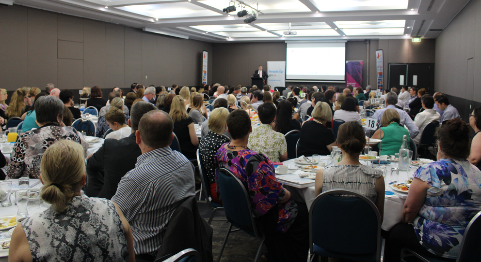 Business owners and managers hear from Beyond Blue Chairman Jeff Kennett in Brisbane: QLD.