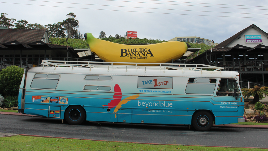 Visiting the Big Banana in Coffs Harbour: NSW.
