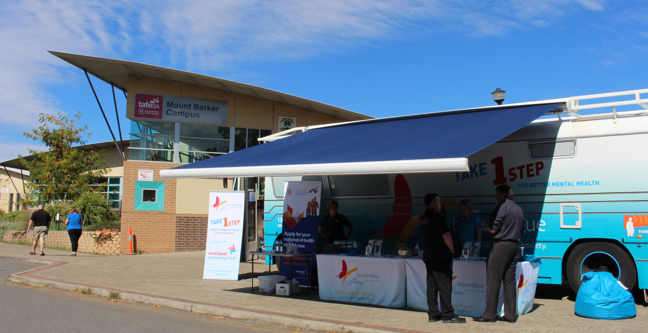 The Roadshow at TAFE SA Mount Barker Campus.