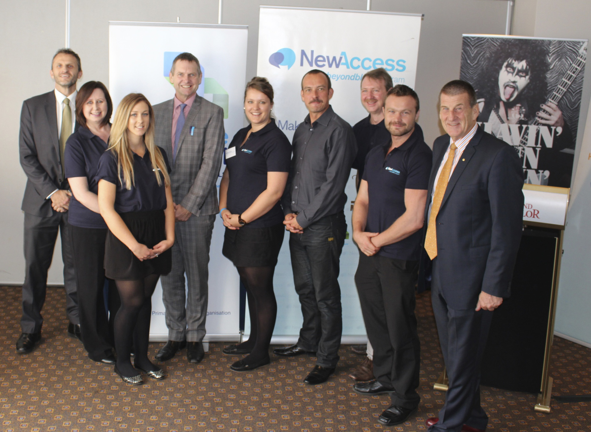 Central Adelaide and Hills Medicare Local, Movember and Beyond Blue launch NewAccess in Adelaide.