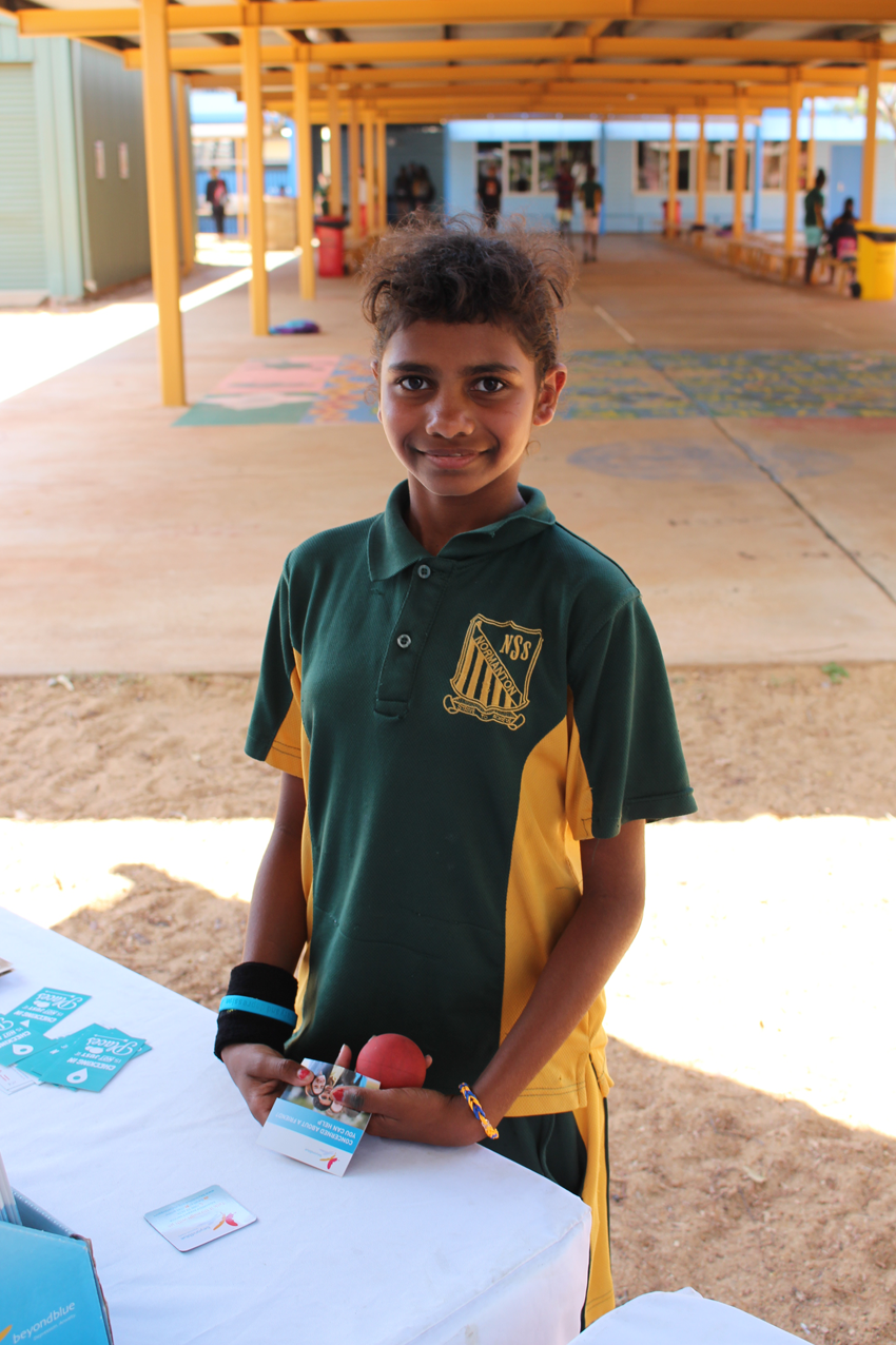 All smiles at Normanton State School.