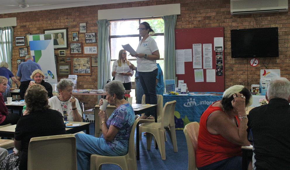 Trivia time at Toukley & District Senior Citizens Club.