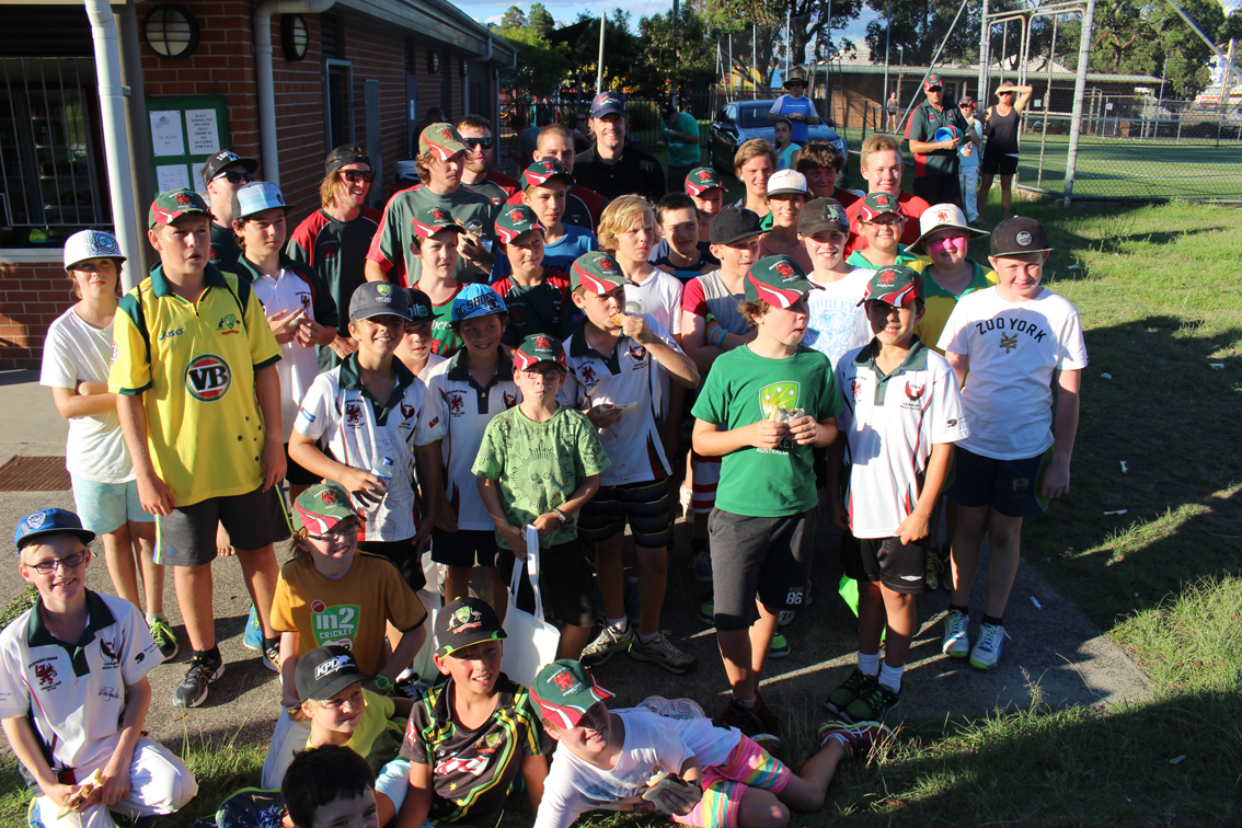 Kincumber Avoca Cricket Club hosted Beyond Blue and Nathan Bracken.