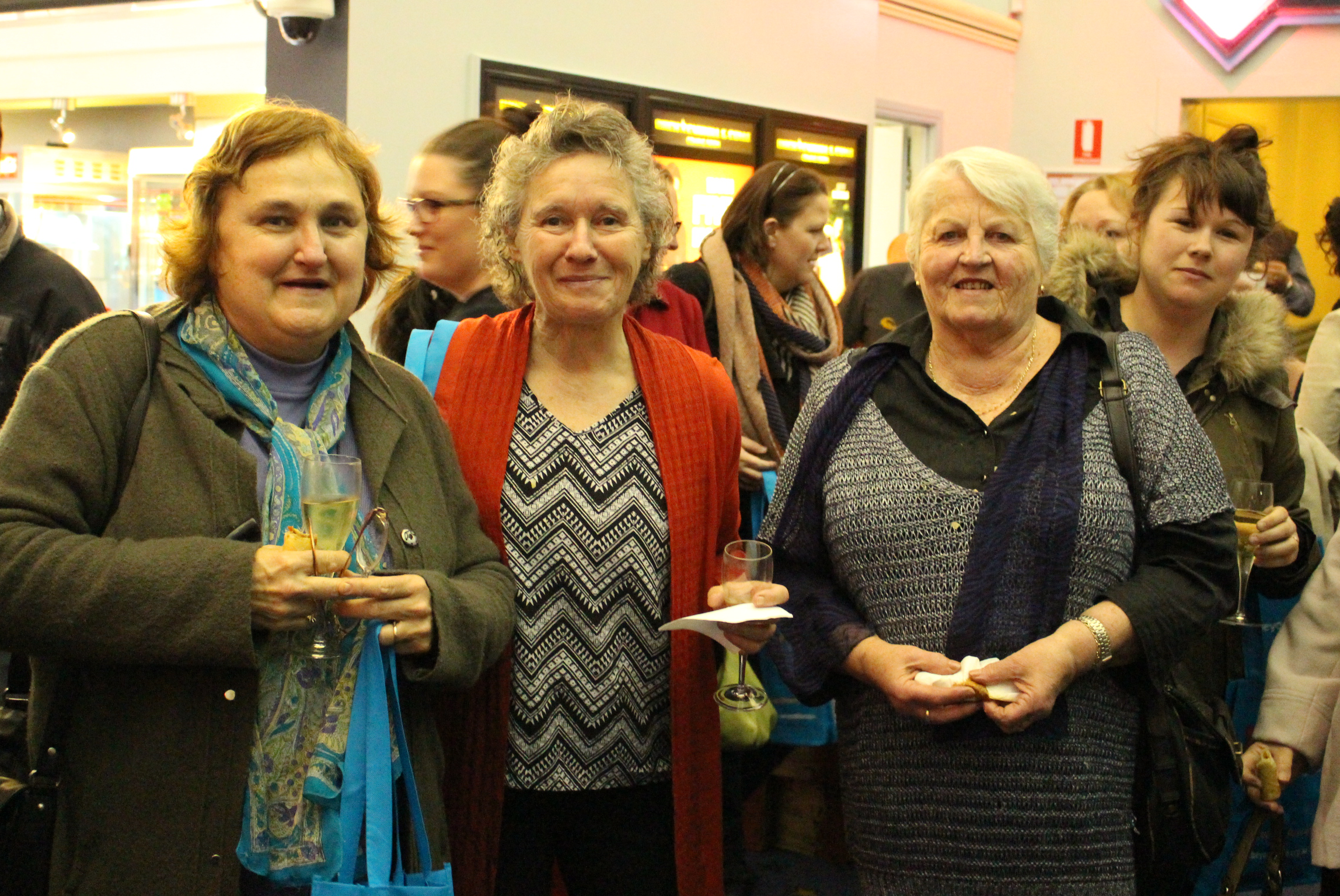 At the 'Magic in the Moonlight' screening at The Strand Cinemas in Toowoomba.