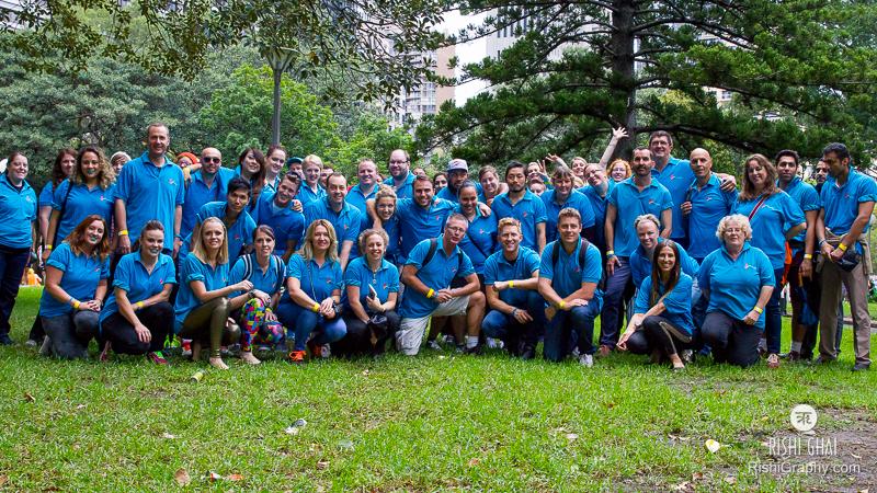 The wonderful Beyond Blue volunteers for Mardi Gras.