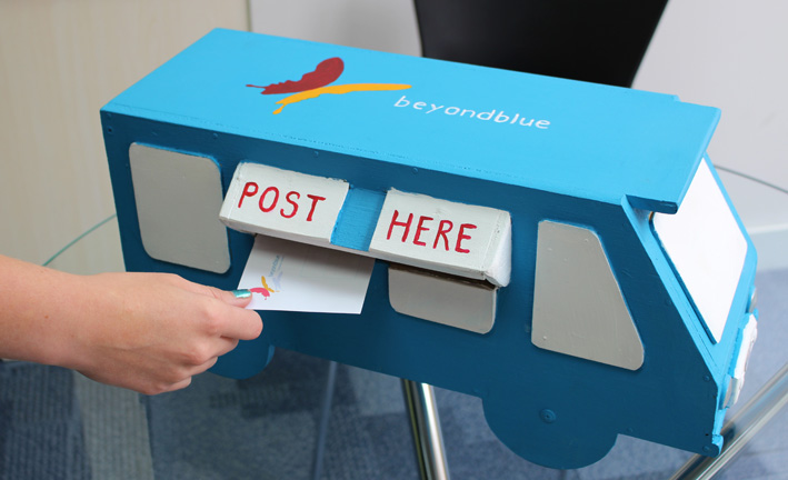 The Roadshow letterbox