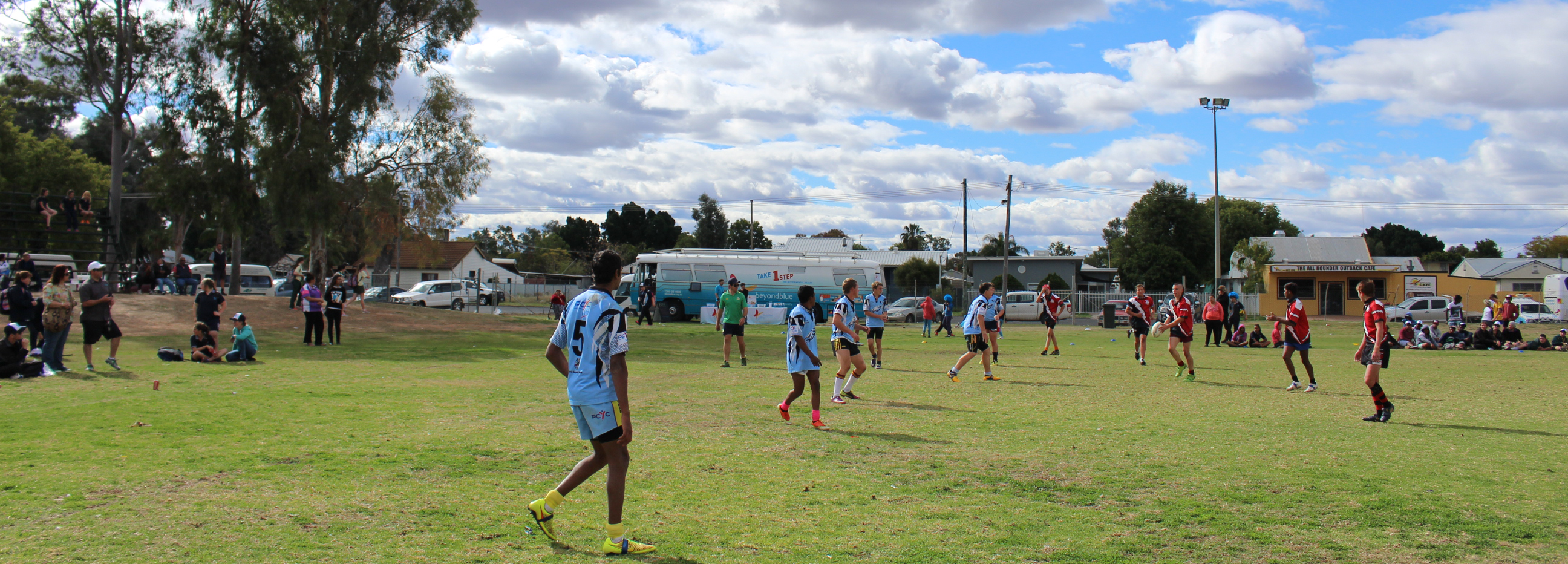 Hundreds of students from schools across far west NSW battled it out on the field at Ronnie Gibbs Gala Day in Bourke.