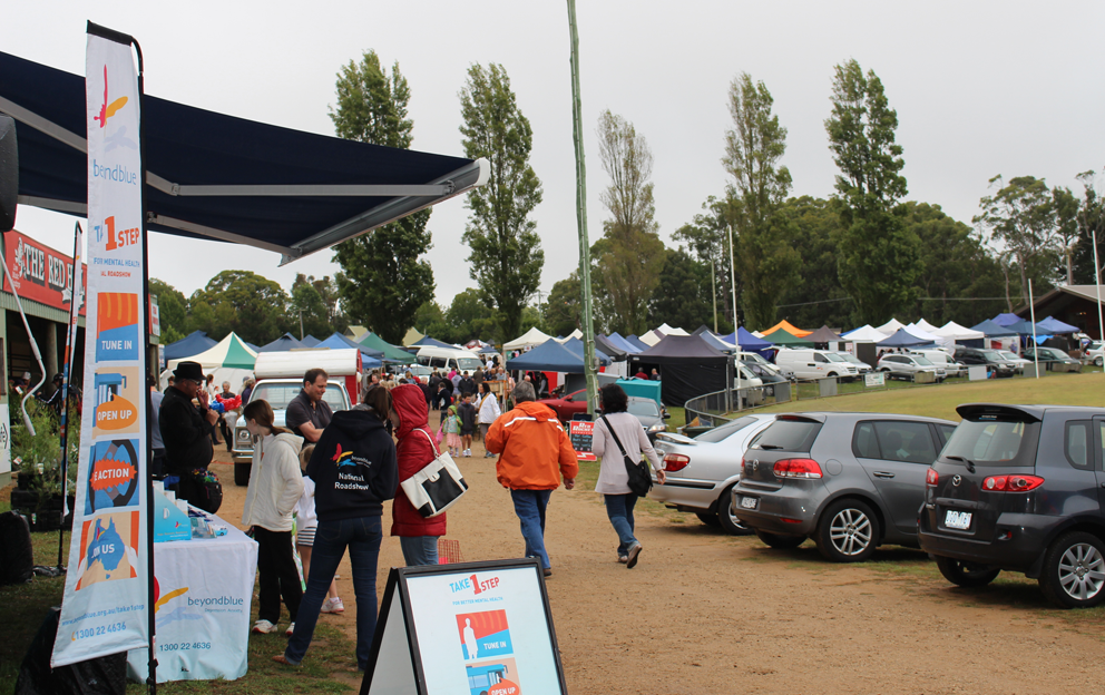 All set for Red Hill Community Market.