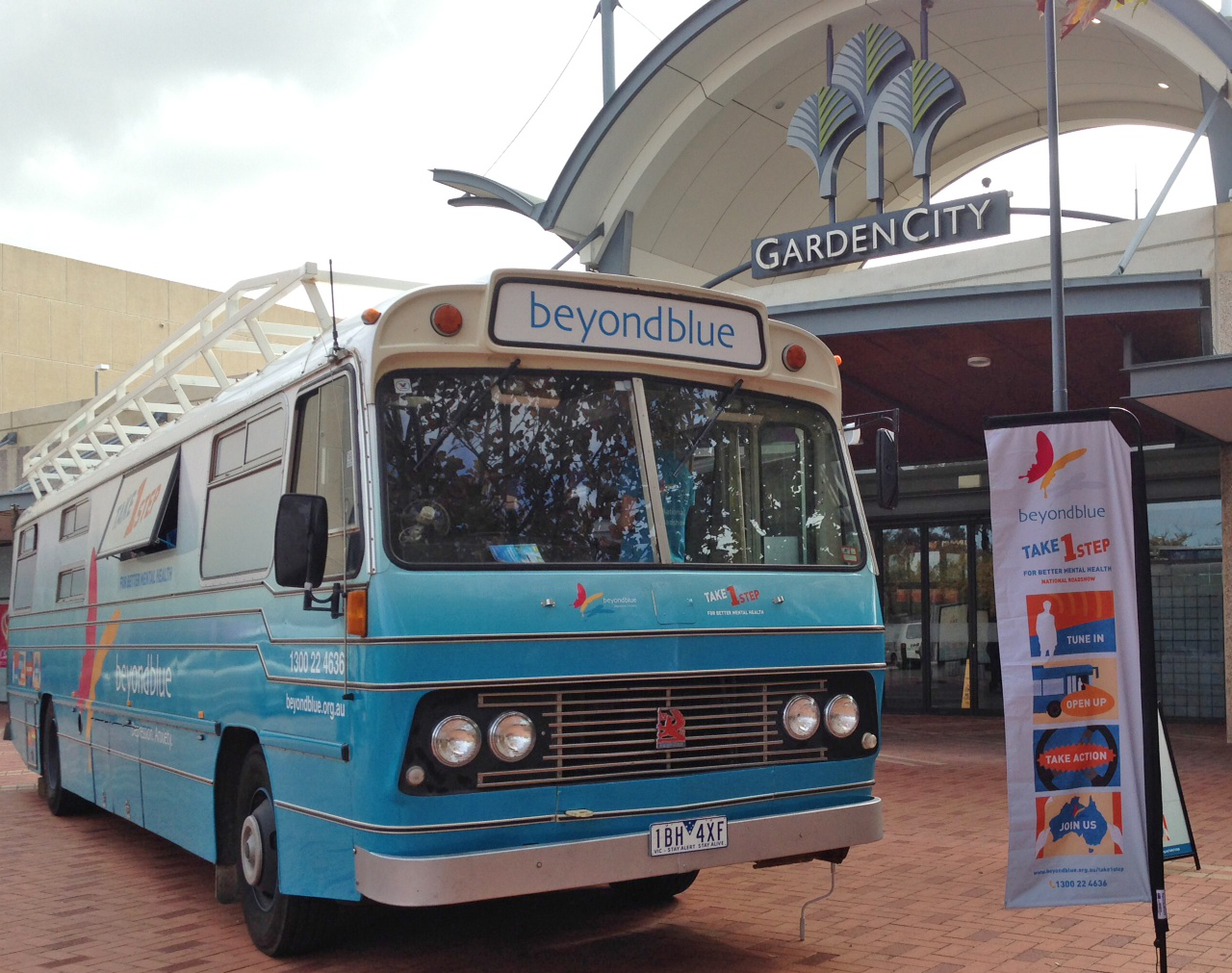 Roadshow Rhonda in prime position at Garden City shopping centre, Booragoon.