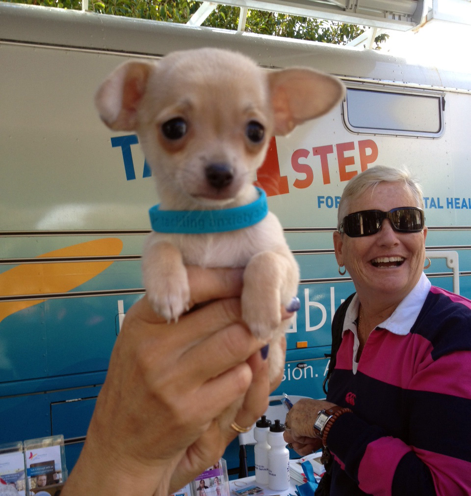This little guy stole hearts at Arthur Grady Day in Fremantle!
