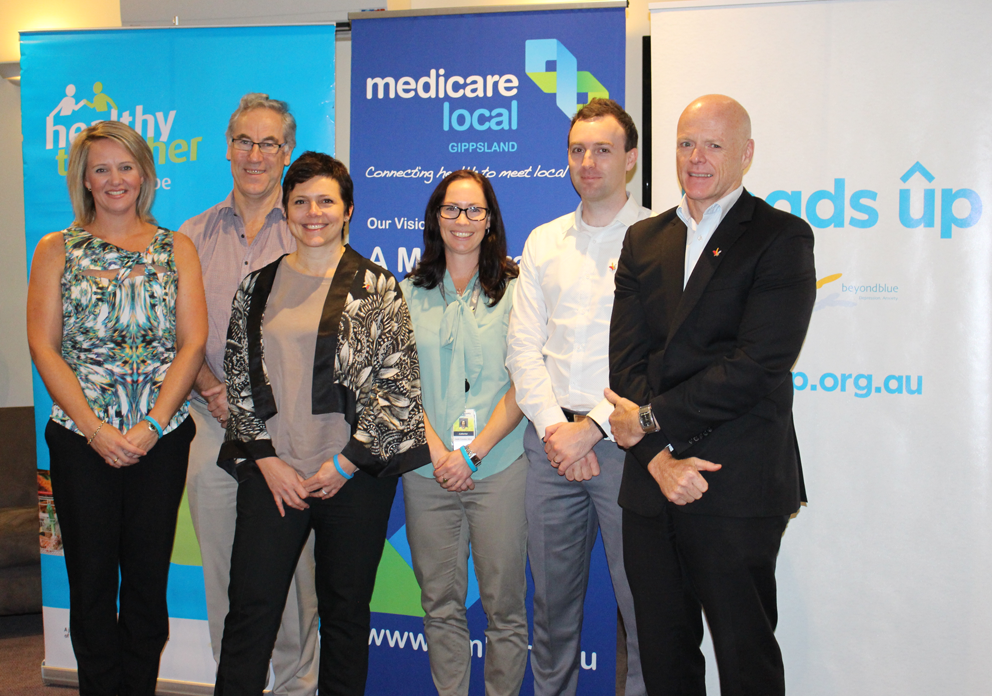 Promoting mentally healthy workplaces in Gippsland.