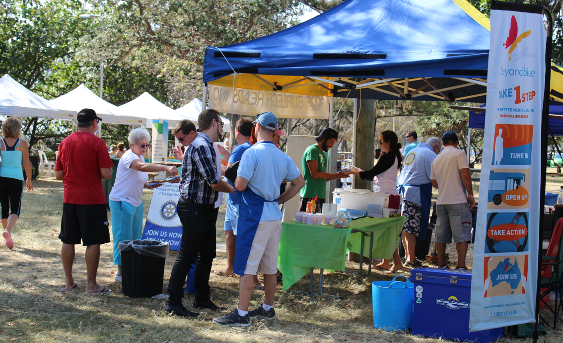 Hundreds of people came through the community festival at Justins Park, Burleigh Heads.