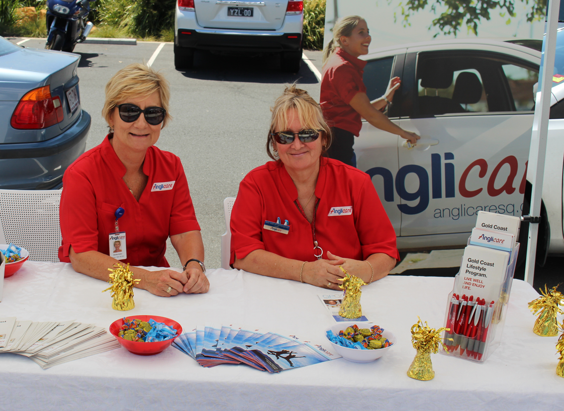Anglicare supported the free community health expo in Upper Coomera.