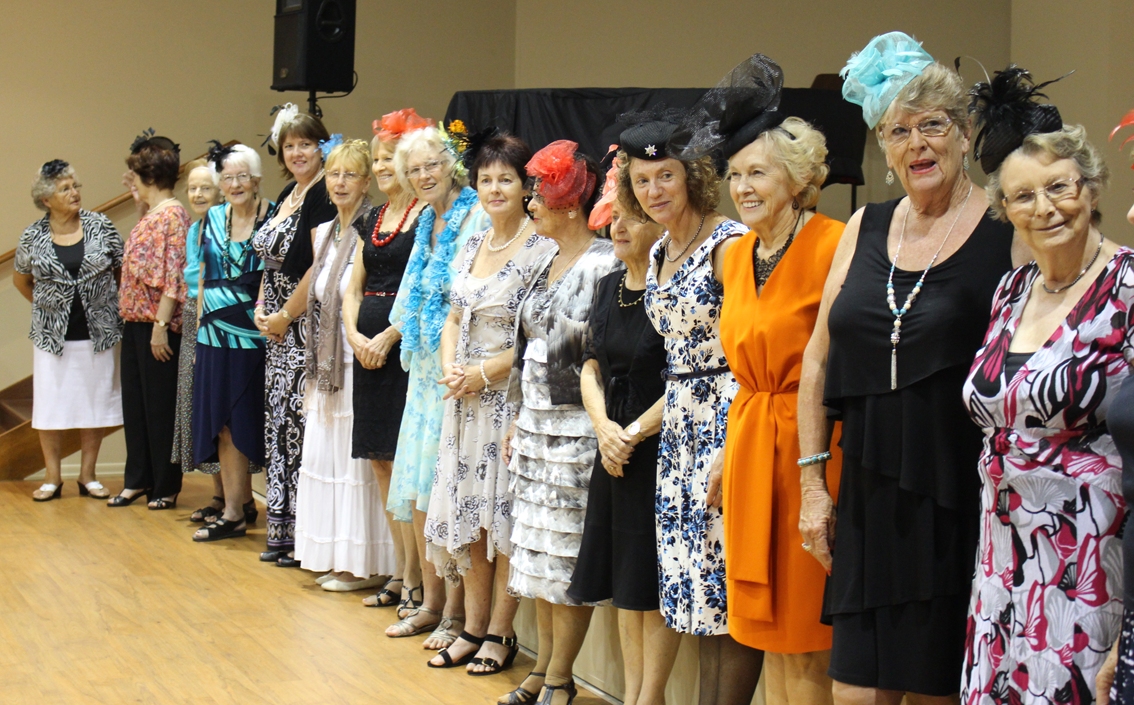 Fashions on the Field for Melbourne Cup celebrations at The Gardens on Lindfield, Helensvale.