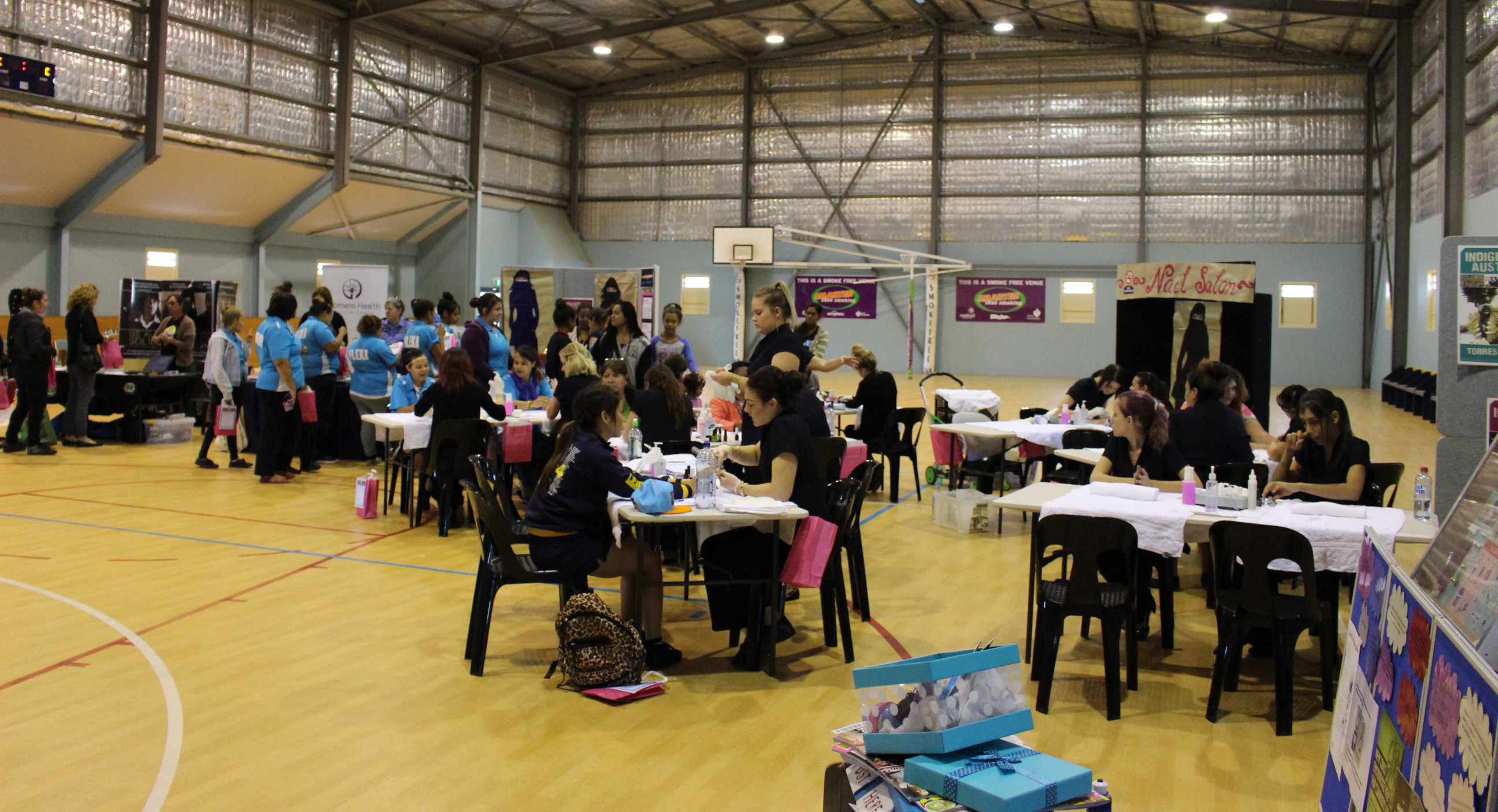 There was plenty to do at the Deadly Divaz wellbeing day in Geraldton.