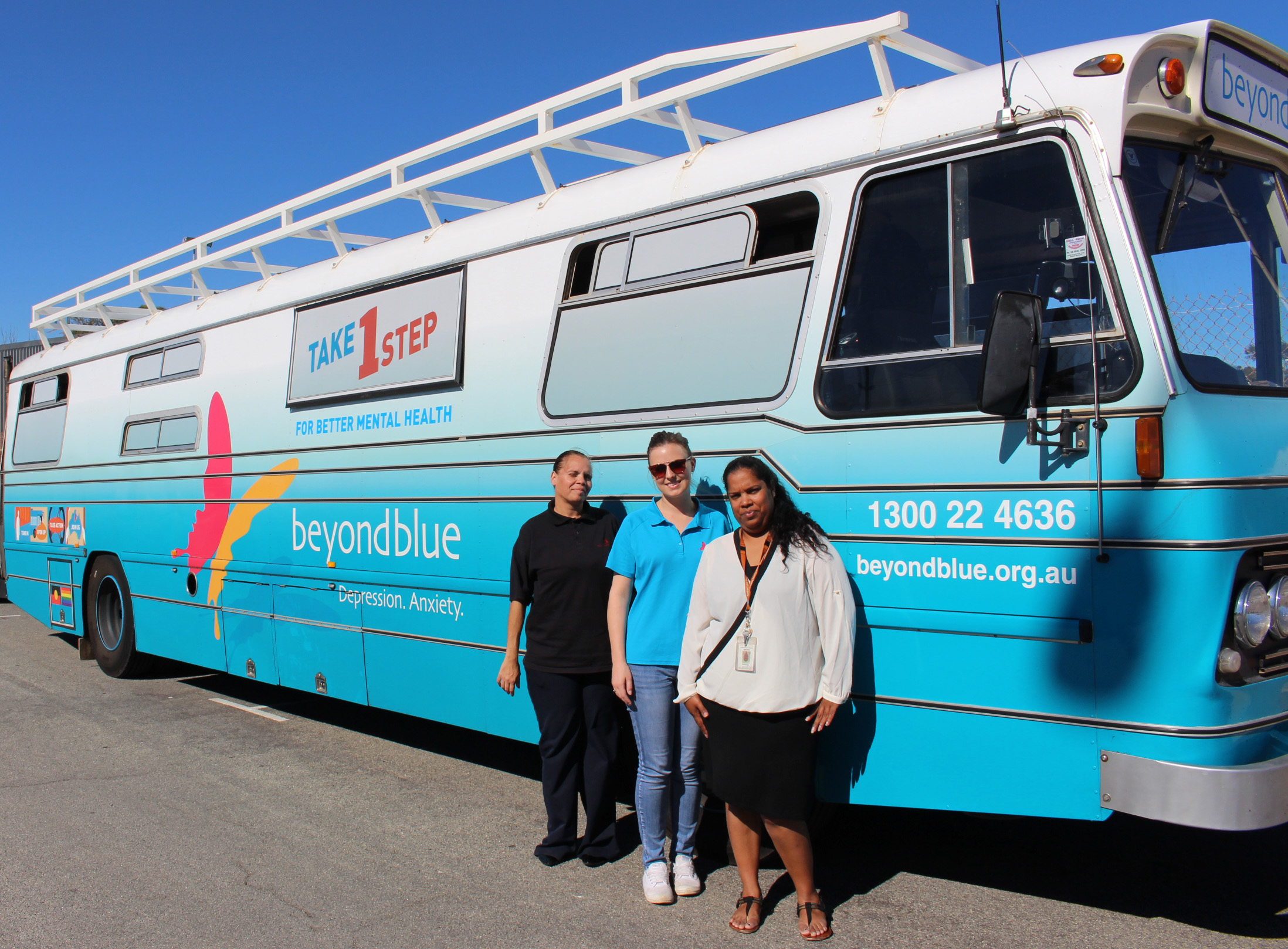 In Geraldton for the Deadly Divaz wellbeing day.