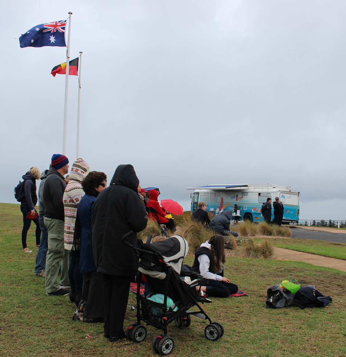 At Cannon Hill in Warrnambool.