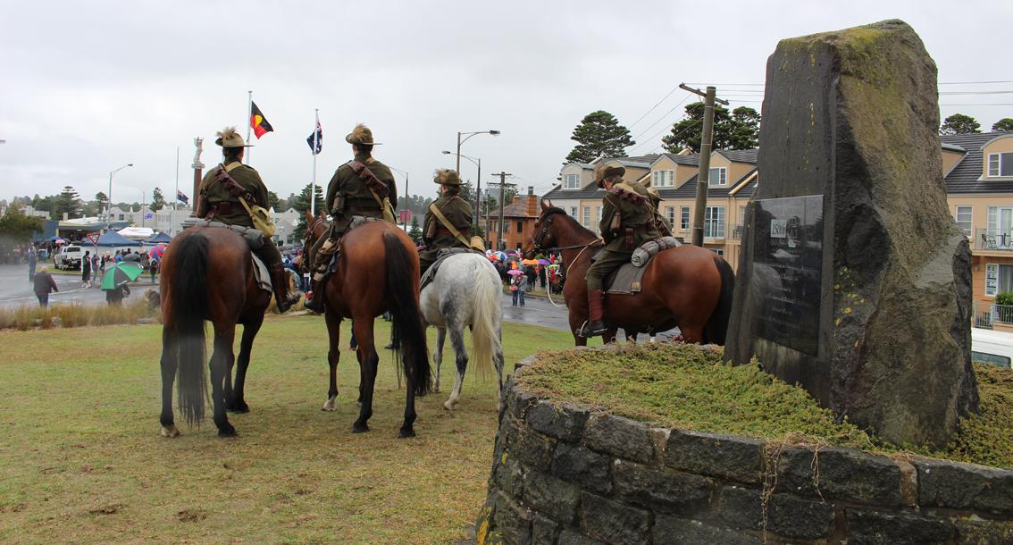 Anzac Day in Warrnambool.