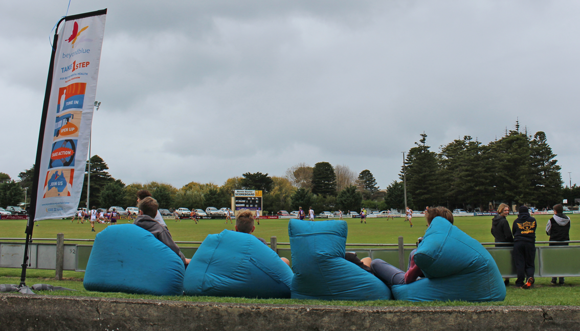 Best seat in the house at Port Fairy.