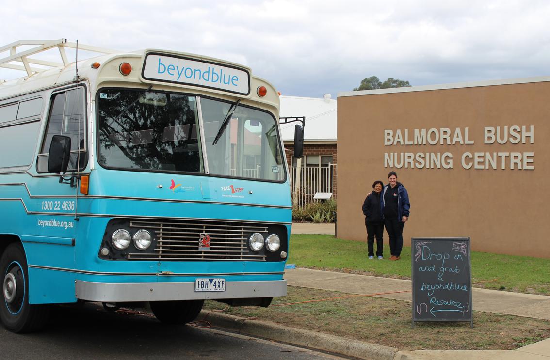 At Balmoral's Bush Nursing Centre.