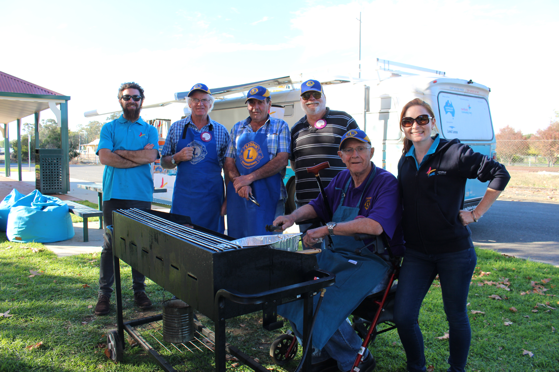 Cooking with gas in Culcairn!