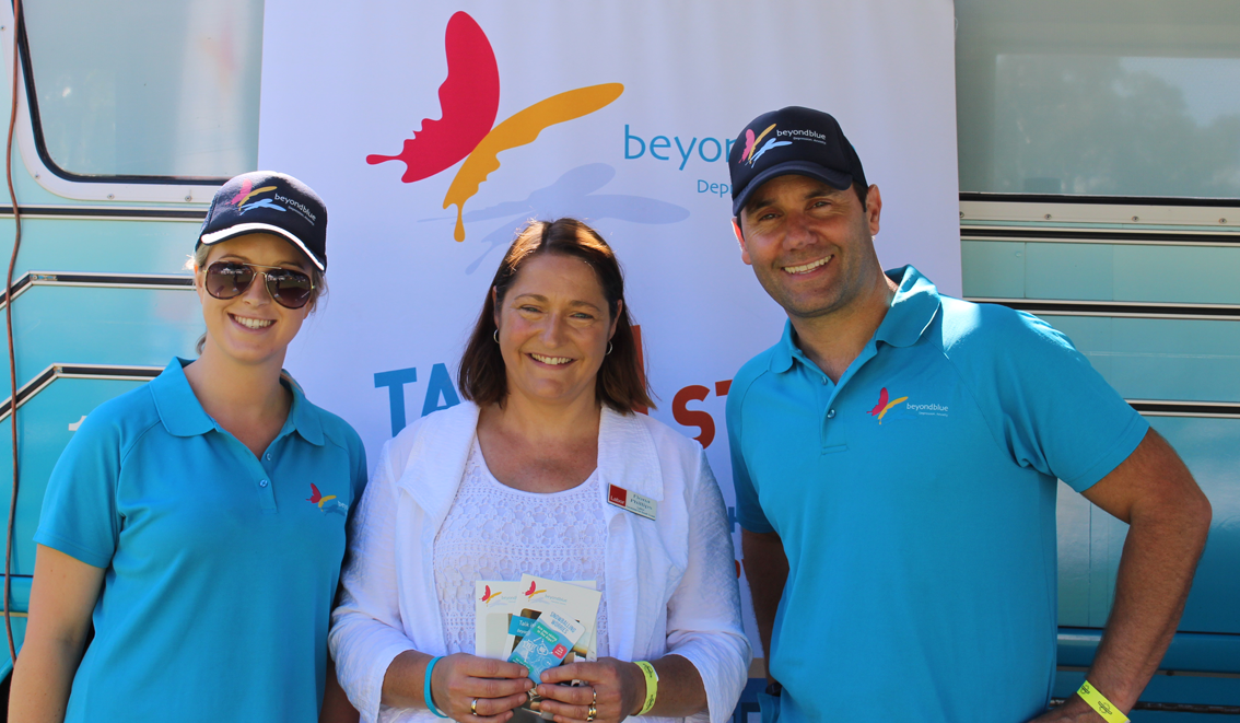 Labor Candidate for the South Coast Fiona Phillips stopped by the Nowra Show on her campaign trail.