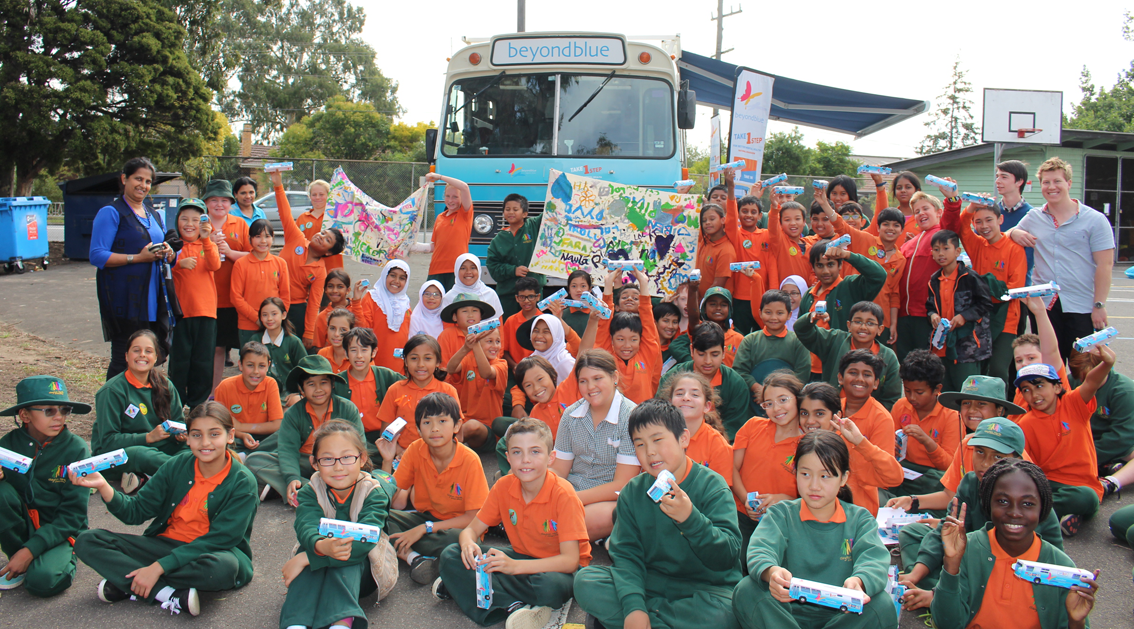 Buses for all at Clayton North Primary School!