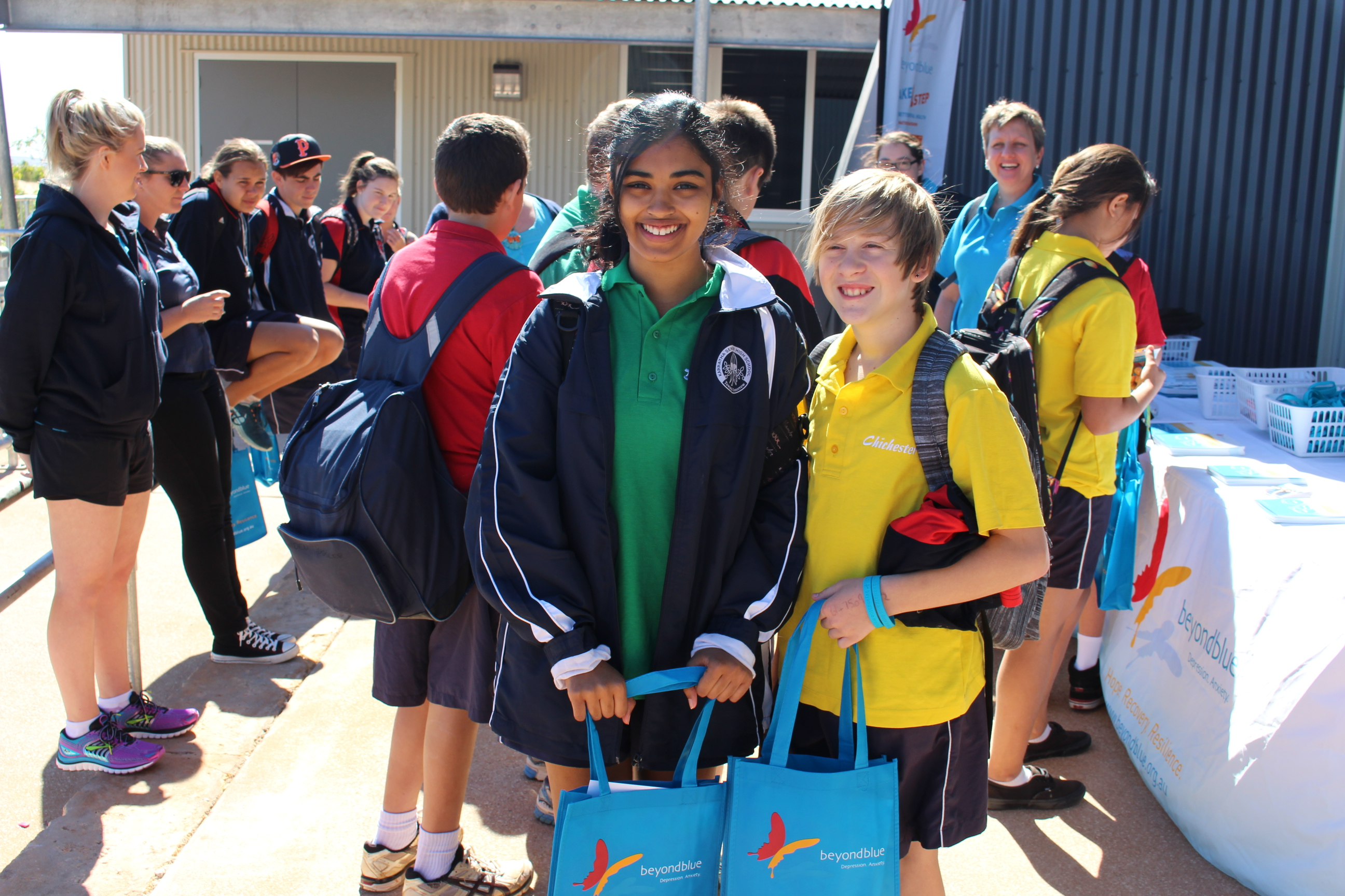 Providing resources to students in Karratha.