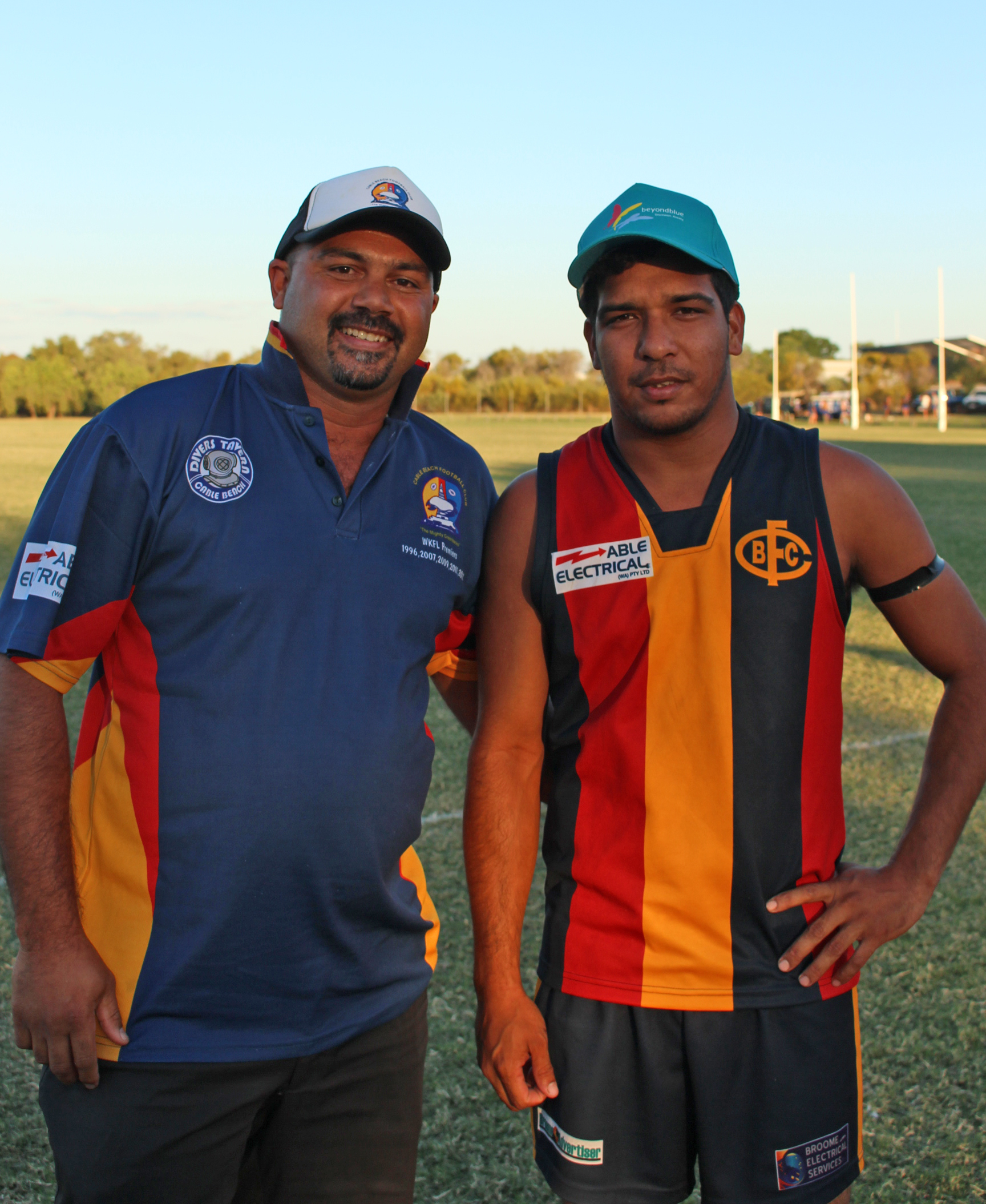 Cable Beach best on ground at the WKFL in Broome.