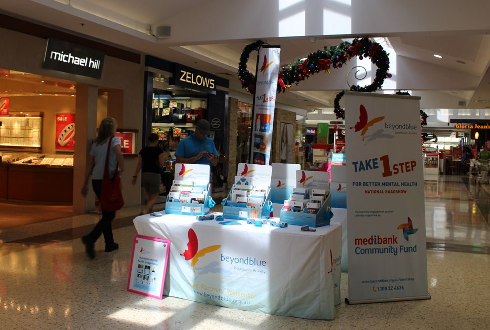 All set for the shopping crowd at Brookside Shopping Centre