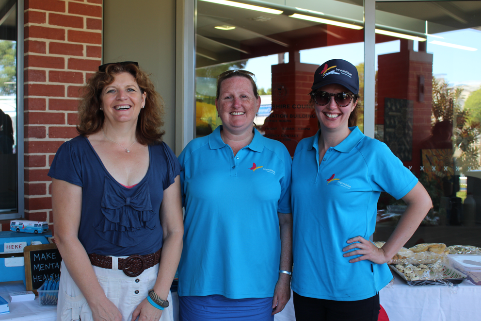Dropping by Lockhart for a community afternoon tea.
