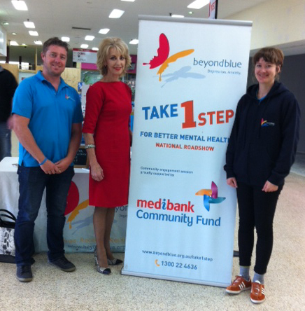City of Lithgow Mayor Cr. Maree Statham came to visit the team at Valley Plaza.