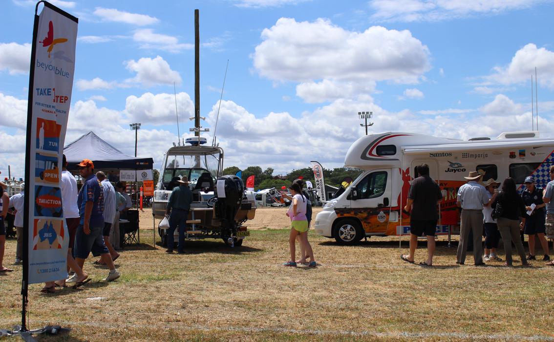 At Inverell's Northern Inland 4x4 Fishing, Caravan and Camping Expo.
