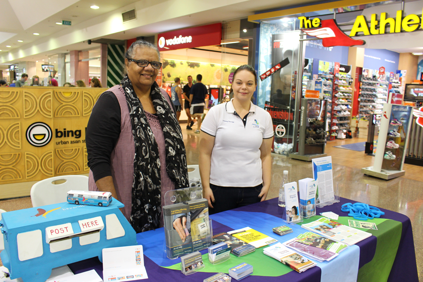 Northern Adelaide Medicare Local colleagues at Tea Tree Plaza in Modbury.