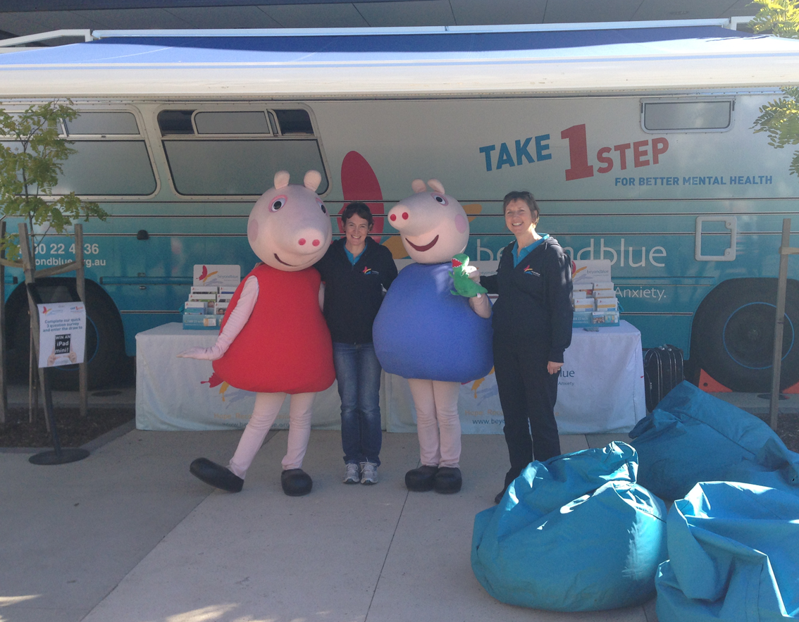Peppa Pig and George came to say hello at Craigieburn Central!