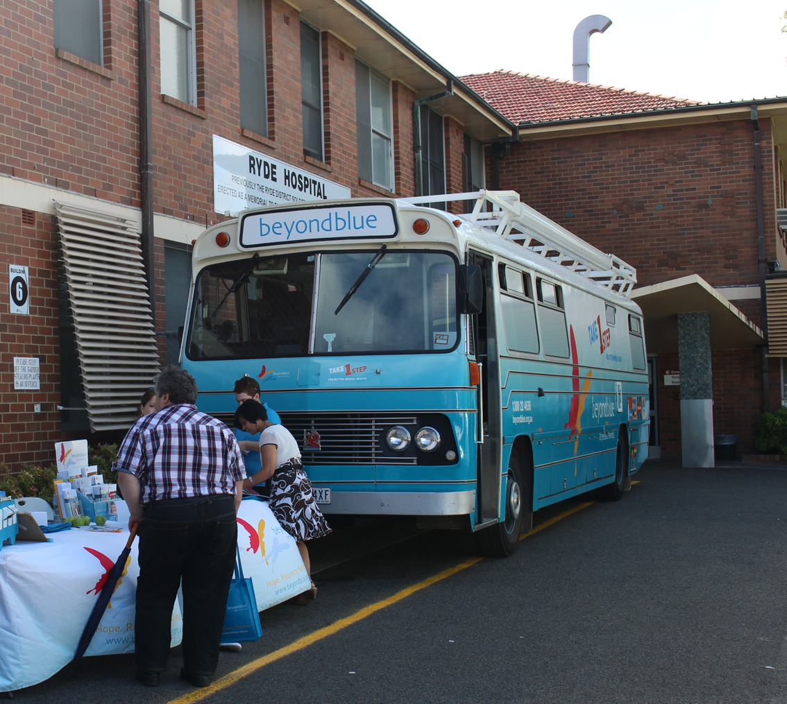 The team spent an afternoon at Ryde Hospital.