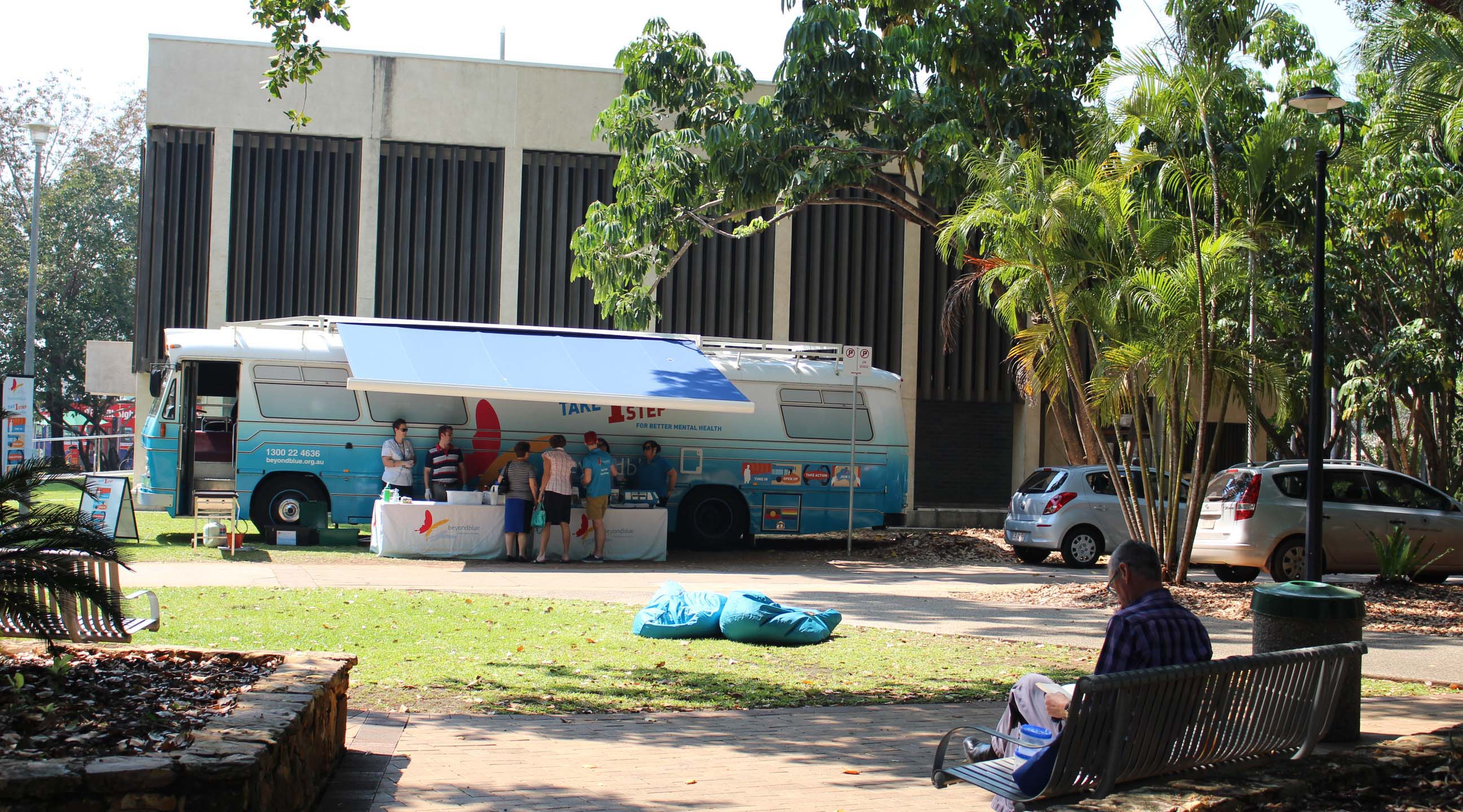 Bennett Park was one of the first stops in Darwin.
