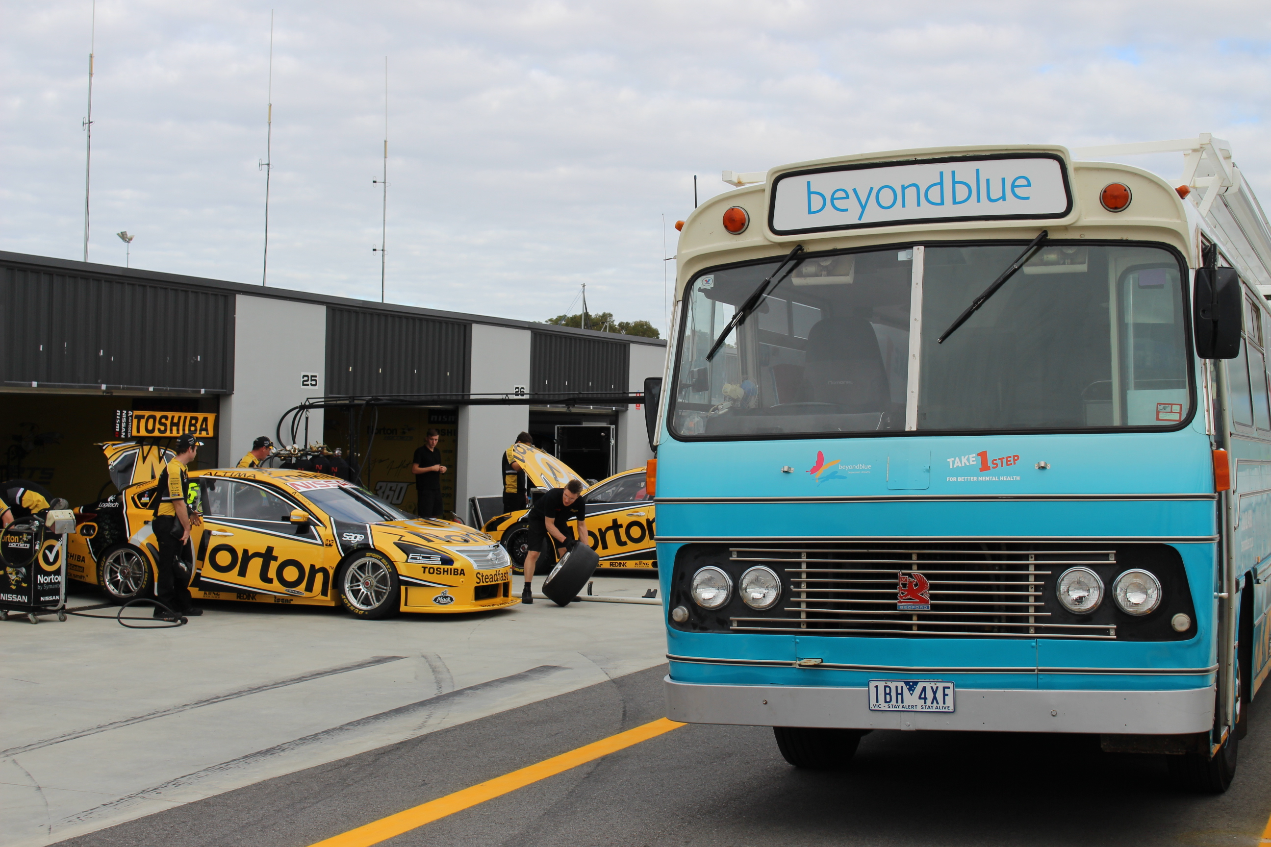 Roadshow Rhonda meets the Nissan Hornets at Barbagallo Raceway.